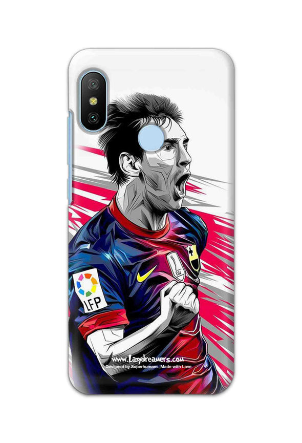 Xiaomi Redmi 6 Pro - Lionel Messi Fan Artwork
