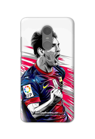 Xiaomi Redmi Note 4 - Lionel Messi Fan Artwork