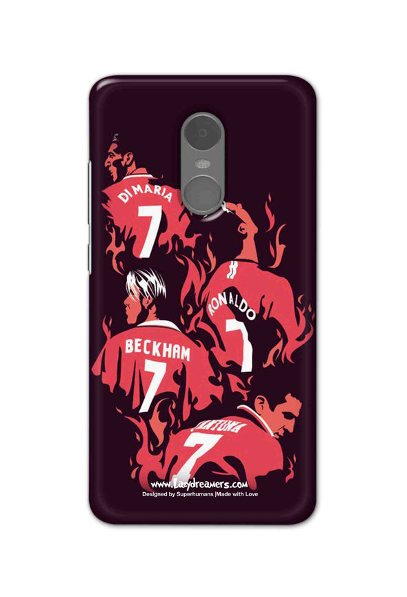 Xiaomi Redmi Note 4 - Manchester United No.7 Legends