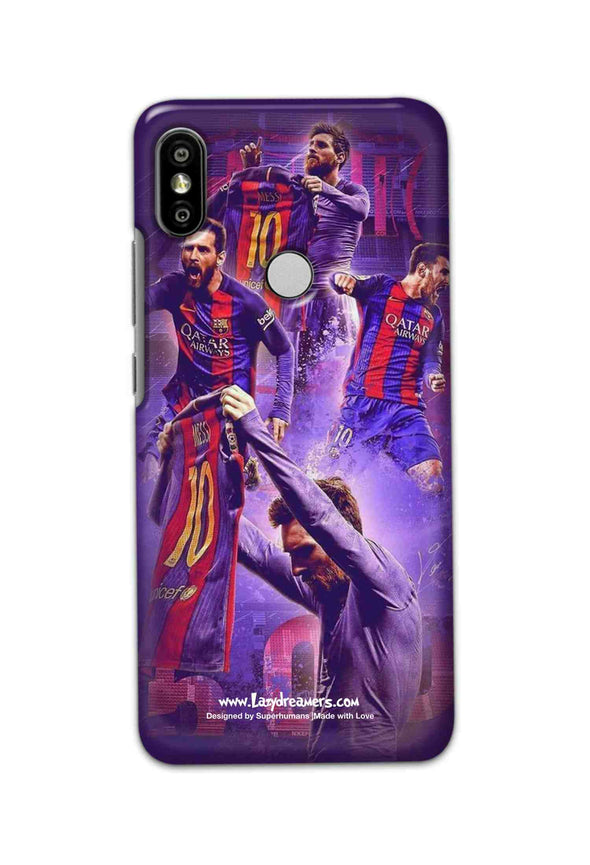 Xiaomi Redmi Y2 - Lionel Messi Celebration Collage