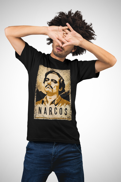 Printed Crew Neck T-shirt : Narcos