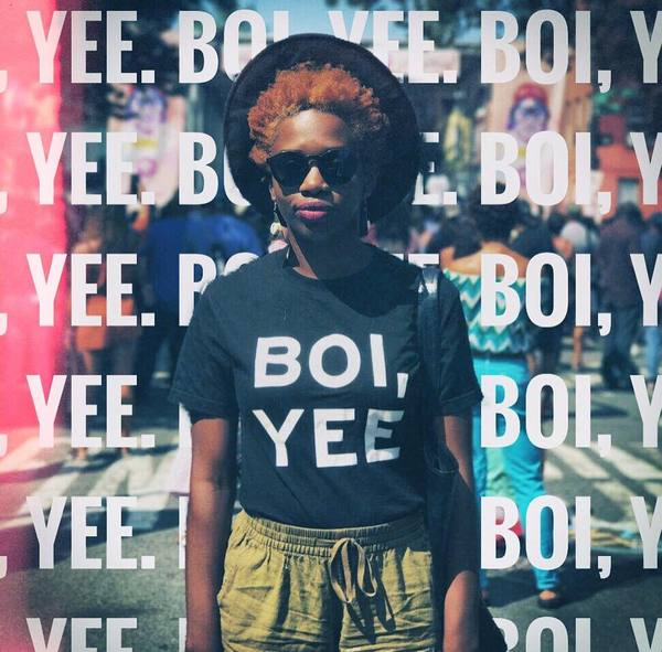 "Our ""BOI, YEE"" tee is coming back."