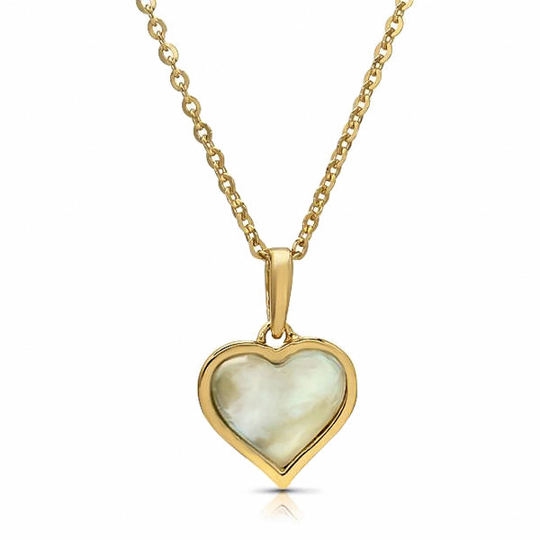 Heather's Heart of Pearl Necklace