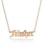 Olivia's Old English Personalized Necklace
