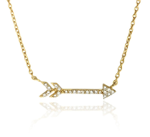 LOVESTRUCK ARROW NECKLACE