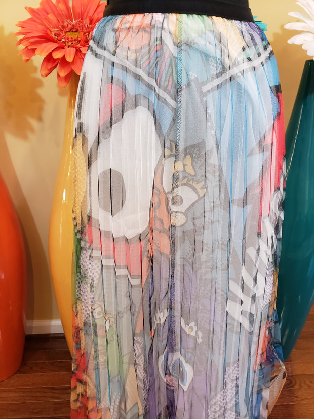 Cartoon Tulle Skirt