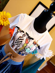 Graphic Girl Tee