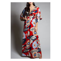 Kimono Side Slit Dress