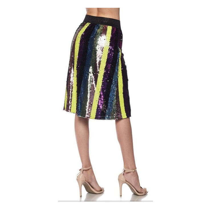 Sequin Embellished Skirt