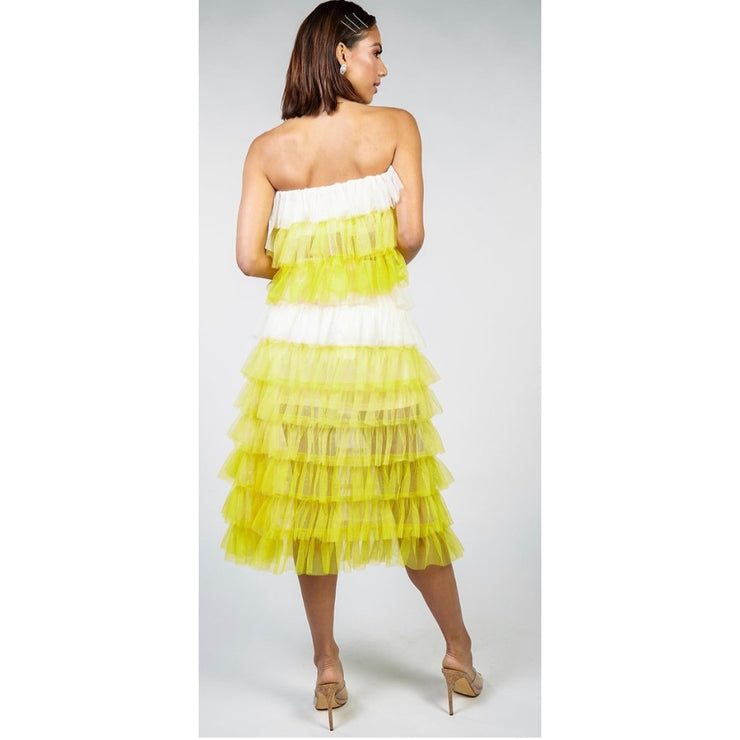 Tulle Halter Skirt Set