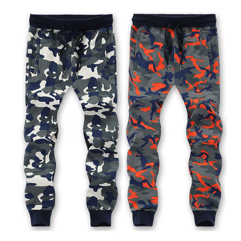 Camouflage Sweatpants Men Trousers Sweat