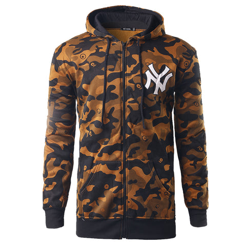 Newly  2016 Brand Camouflage Coat Autumn Winter Baseball