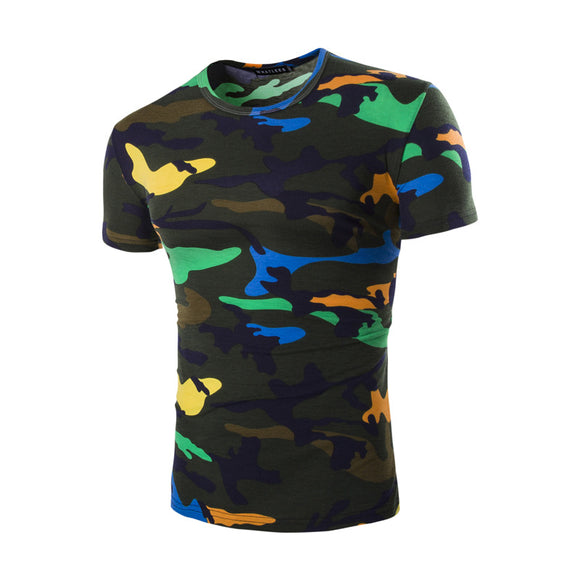 Brand New Tshirt Hommes Camouflage 2017