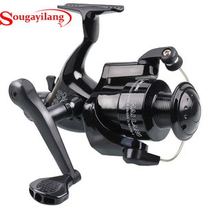 Sougayilang Spinning Reel Fishing Gear Ratio 5.1: 1 Gauche Droite Anti-slip
