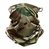 Multicam Camouflage Tactical Neck Gaiter Tube Face