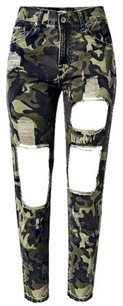Women military female Army Camo pants  Legging