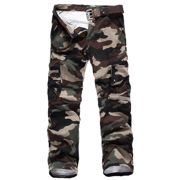 Tactical Pants Military Men Outer Wear Camouflage
