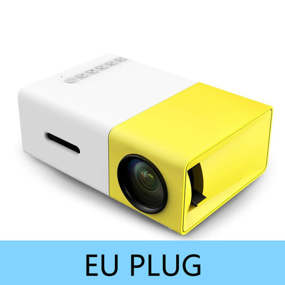 -50% sur les Portables Projectors YG300 YG310 LED Portable Projector 400-600LM Audio 320x240 Pixels