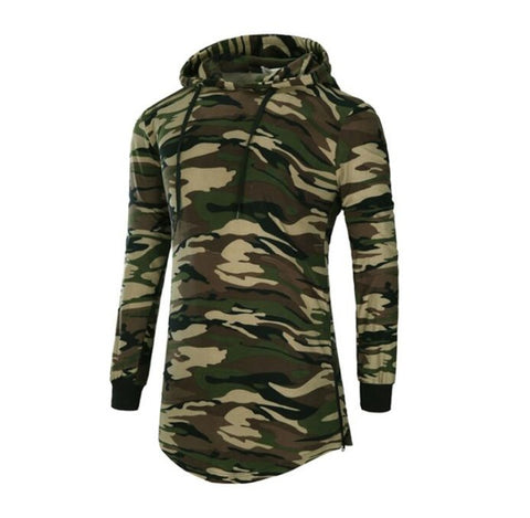 T Shirt Hooded Camouflage Trends  Long Sleeves