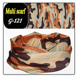 Bandana Scarf Coif Fish Camouflage