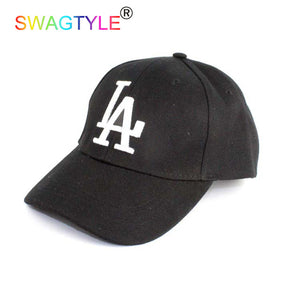 New LA Baseball Cap Adjustable Sun Hat
