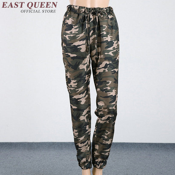 Womens camouflage pants cargo pants military