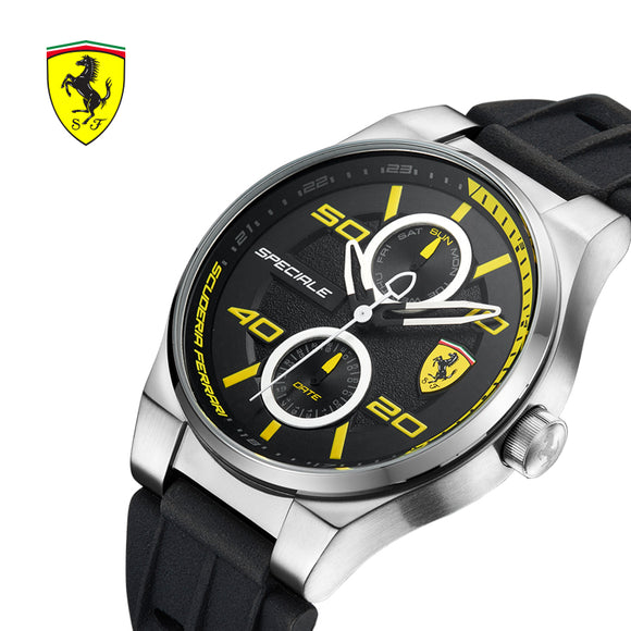 SCUDERIA FERRARI Brands Men Watches Sports Fashion CasuaL