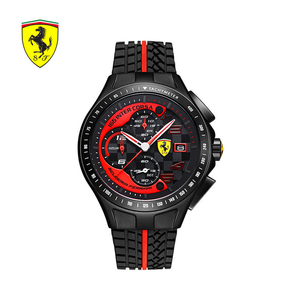 SCUDERIA FERRARI Brands Men Watches Sports Waterproof Quartz