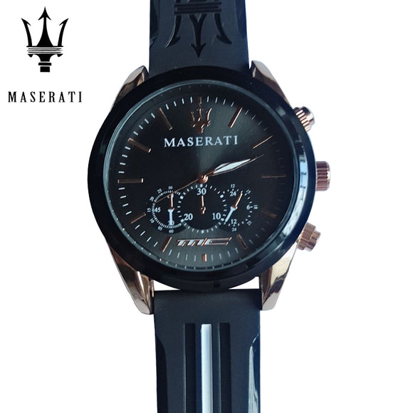 Maserati Luxury Brand Watch Men's Luxury Sports Waterproof Watch