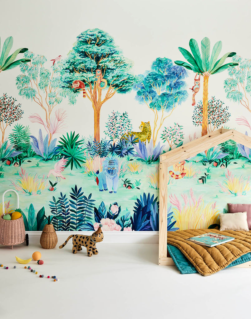 New Collection: Jungle Wallpaper