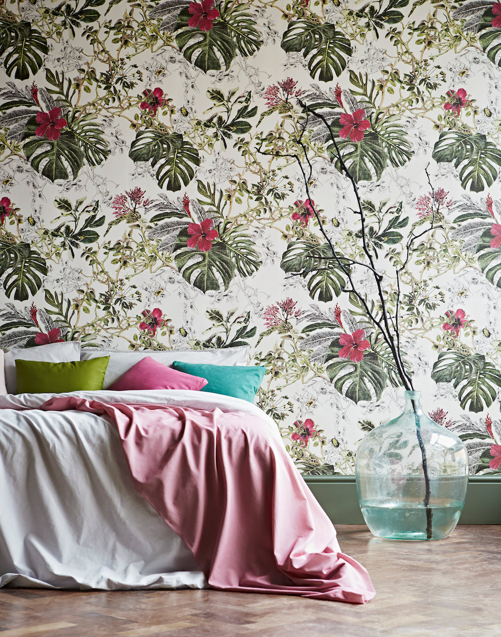 Floral Fun How Floral Trends Have Influenced Our Wallpaper
