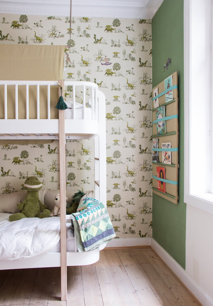 Get the Look: A Dinosaur-Themed Kid's Room and a Dreamy Pink Nursery