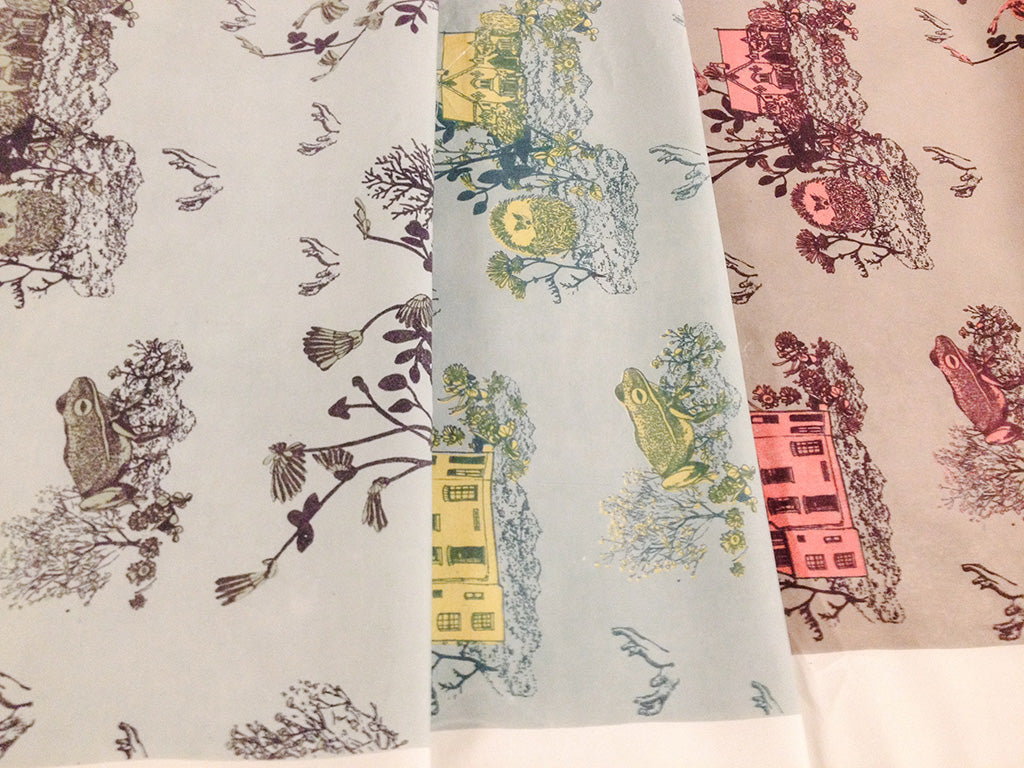 Sian Zeng Bed Linen colorways