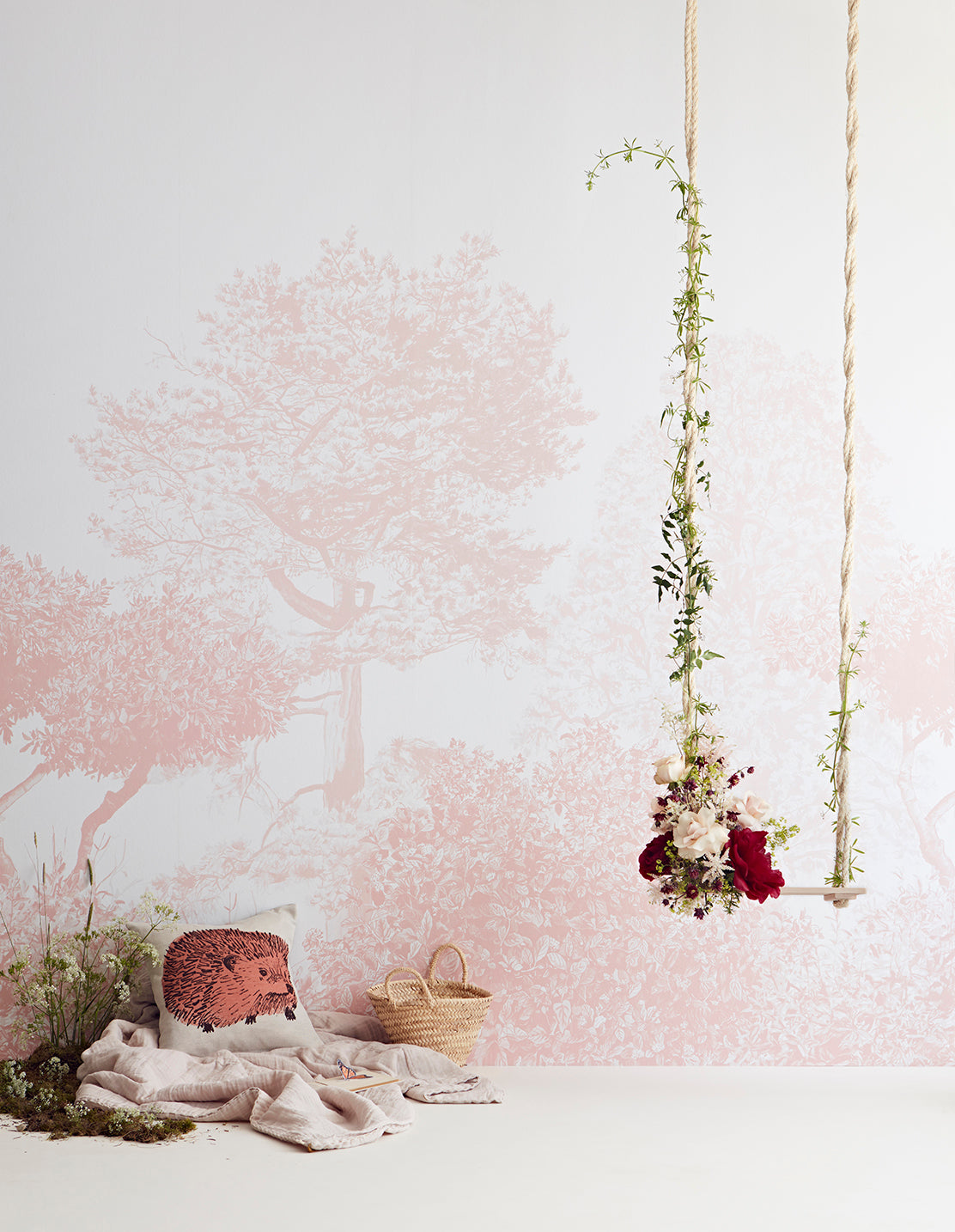 Hua Trees rosa com swing-lighter