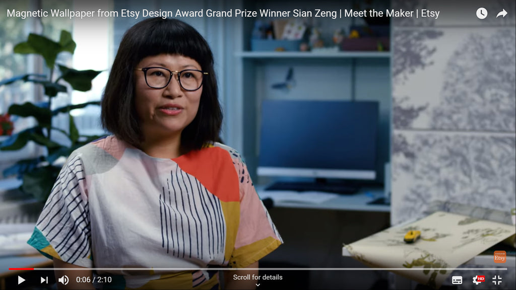 Sian Zeng Etsy Design Award Winning Interview 2019