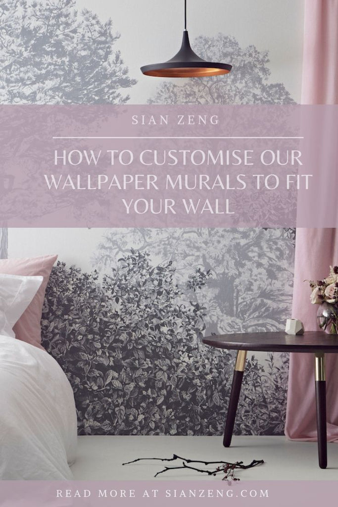 How To Customise Our Wallpaper Murals To Fit Your Wall