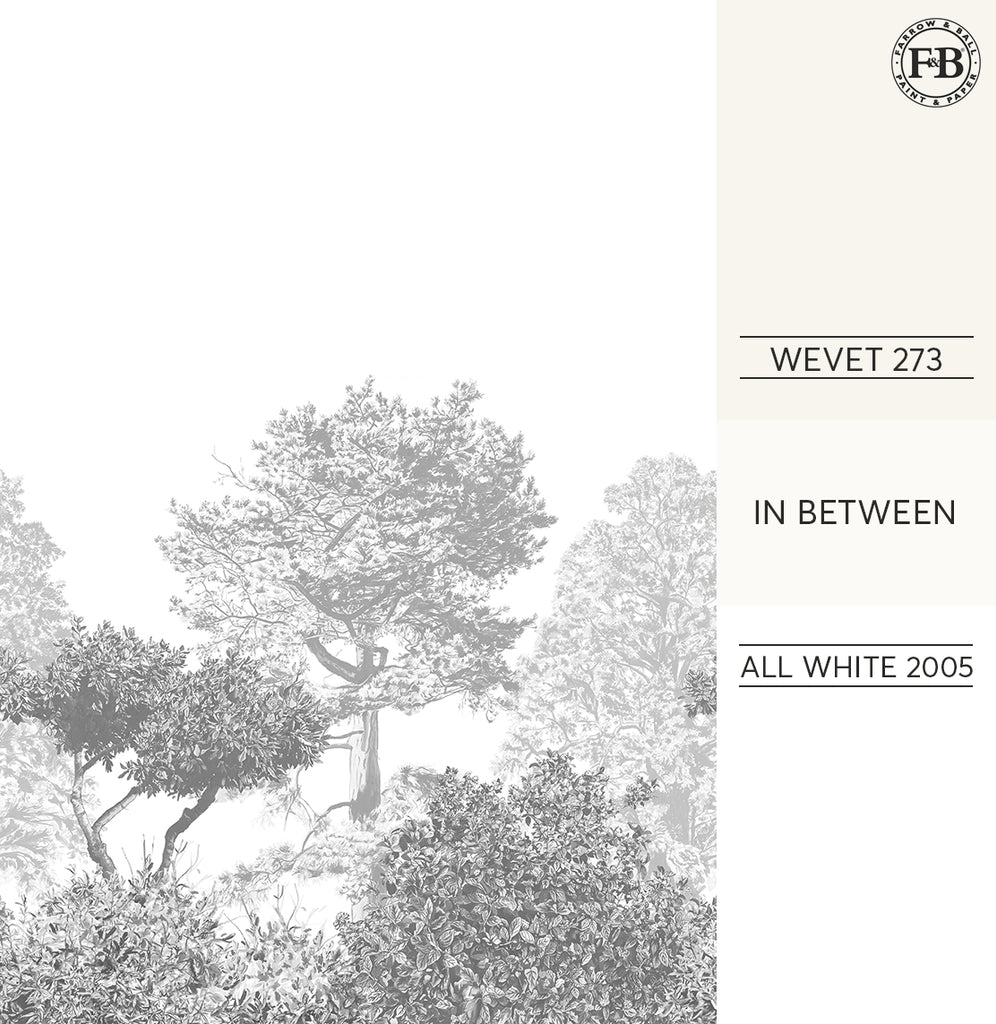 Hua Trees Wallpaper Mural Farrow and Ball Paint Wevet