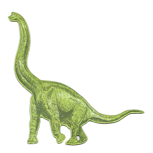 Diplodocus Green Dinosaur Magnet. Quirky Magnet.
