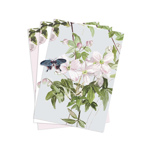 Magnetic Clematis Mural Wallpaper Sample Pack