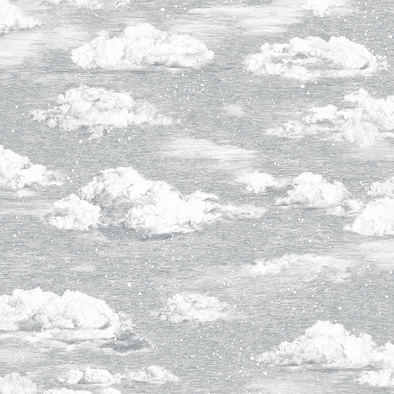Magnetic Winter Wallpaper. Clouds. Interactive Wallpaper, Unique Wallpaper. Designer Wallpaper.