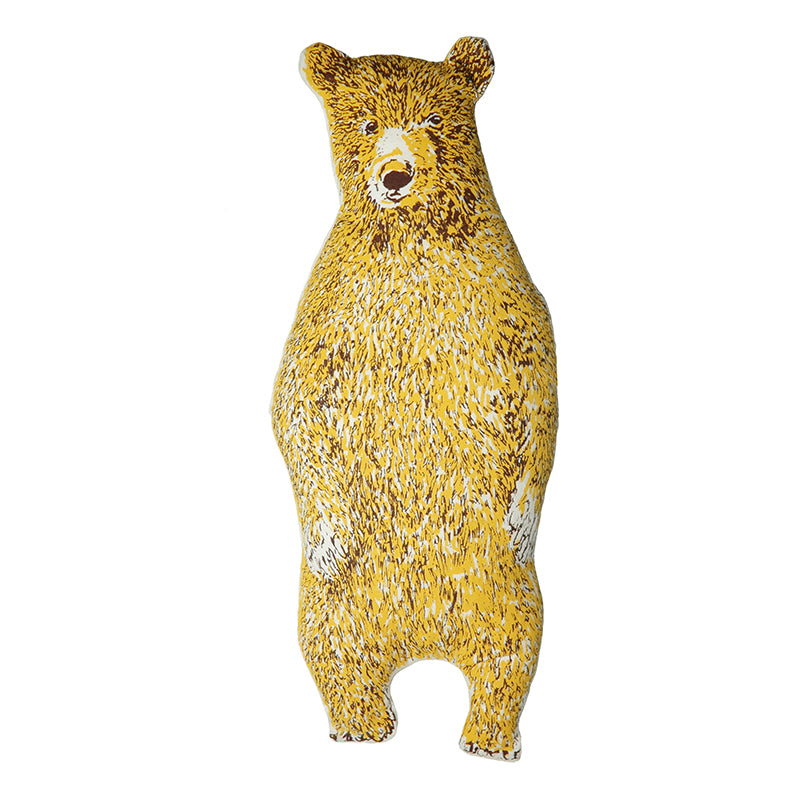 Yellow Office Bear Kit. Make Your Own, Do It Yourself Craft Kit. Unique Gift Idea.