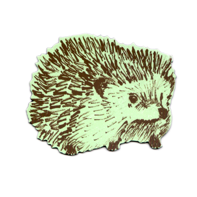 Hedgehog Junior Magnet - Green