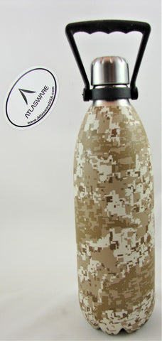 Digital Marine Camo Atlasware Bottle