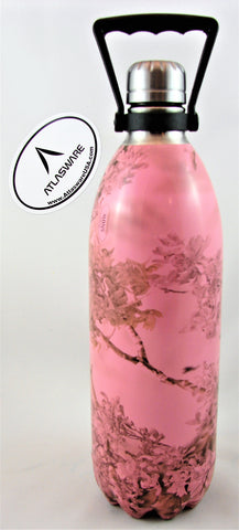 Pink Kings Mountain Shadow Camo Atlasware Bottle