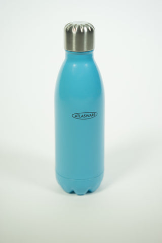 Baby Blue Atlasware Bottle