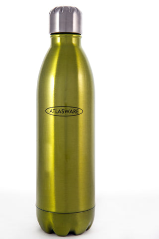 Lime Green Atlasware Bottle