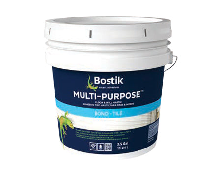BOSTIK - MULTI-PURPOSE FLOOR & WALL MASTIC, 3.5 GALLON
