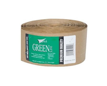 "CAPITOL - GREENLINE 3 5/8"" HOT MELT SEAM TAPE"