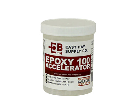 EAST BAY - EPOXY 100 ACCELERATOR; 8 OZ. JAR