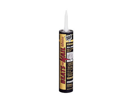 DAP - ALL PURPOSE CONSTRUCTION ADHESIVE 10.3 OZ.